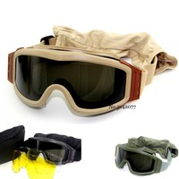 Quality Military Tactical Goggles Shooting Glasses