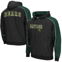 Baylor Bears Thriller Full Zip Hoodie – Black