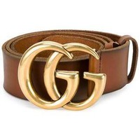 GUCCI Classic Tide brand retro wild smooth buckle belt