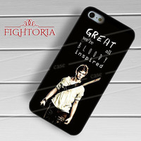 Newt The Maze Runner Movie quotes -EnLs for iPhone 6S case, iPhone 5s case, iPhone 6 case, iPhone 4S, Samsung S6 Edge