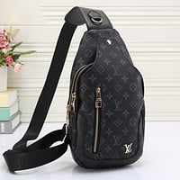 LV Louis Vuitton Full Letter Crossbody Bag Waist Bag Shopping Bag Sports Bag