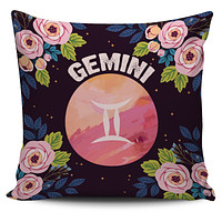 Gemini Vibes Pillow Cover