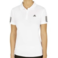 adidas Response Court Traditional Polo Damen weiß | online kaufen bei Tennis-Point.ch