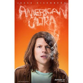 American Ultra 27x40 Movie Poster (2015)