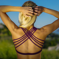 Yoga Bra, Yoga Top, Festival Sexy Bra, Athletic Bra Top, Sports Bra, Flow Clothing