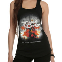 My Chemical Romance The Black Parade Is Dead! Girls Tank Top
