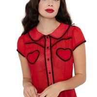 Cherry Ann 50s Sweetheart | TOP