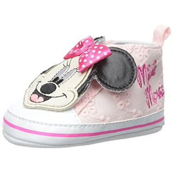 Disney Minnie Infant Girls Eyelet Casual Shoes