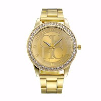 Designer's Gift New Arrival Awesome Stylish Trendy Good Price Great Deal Stainless Steel Hot Sale Unisex Ladies Watch [11203422599]