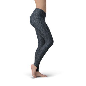 Solid Heather Navy Buttery Soft Leggings