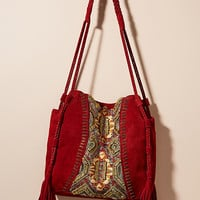 Sedona Striped Hobo Bag