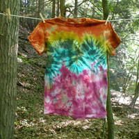READY TO SHIP! tie dye tee - small