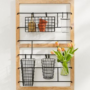 Wooden Storage Frame   Urban Outfitters