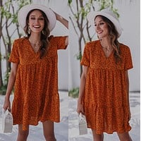 Fashion and leisure 2020 new loose women's dress