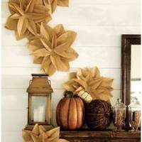 How to Make Cute Flowers from Brown Paper Bags!