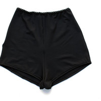 High Waisted Swim Shorts