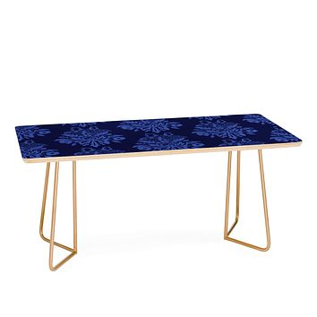 Morgan Kendall blue lace Coffee Table