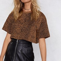 Meow or Never Leopard Tee