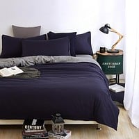 Double side use bedding set