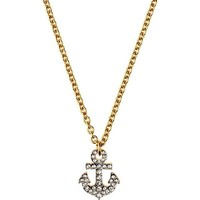 Juicy Couture Anchor Charm Necklace