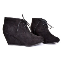 Never Enough Bootie in Black