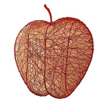 RED WIRE APPLE FRUIT BOWL - MIRA