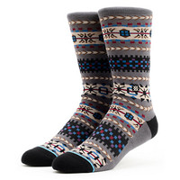 Stance Rockland  Grey Native Print Crew Socks at Zumiez : PDP