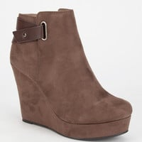 Soda Embasy Womens Boots Taupe  In Sizes