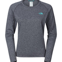 WOMEN'S LONG-SLEEVE REAXION AMP TEE
