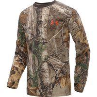 UNDER ARMOUR Boys' Charged Cotton Camo Long-Sleeve T-Shirt