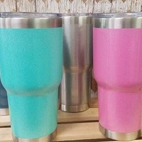 30 oz - Glitter Tumbler - 24 hours cold / 8 hours hot
