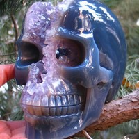 Carved Crystal Skull, Realistic