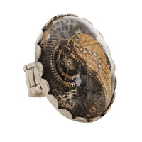 LOVEsick Wing Gears Pendant Stretch Ring | Hot Topic