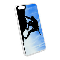 Mountain Rock Wall Climbing Snap On Hard Protective Case for Apple iPhone 6