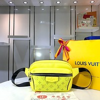 LV Louis Vuitton MONOGRAM CANVAS OUTDOOR WAIST BAG CROSS BODY BAG