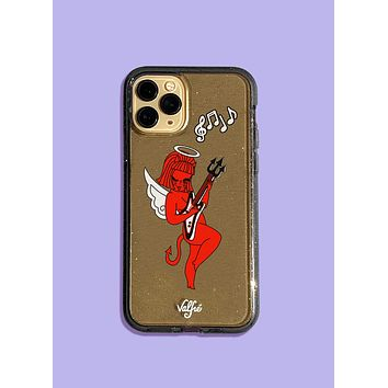 Electric Lucy Land Glitter Phone Case