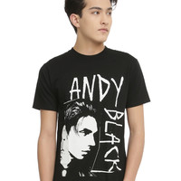 Andy Black Profile T-Shirt