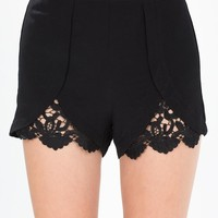 Hint Of Crochet Short