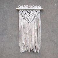 Macrame wall hanging Wall decor Woven wall hanging Bohemian style bedroom decor Handmade Christmas gift idea for her Anniversary gift