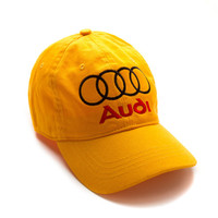 "Club Foreign Logo Hat ""Rings"" - Yellow"