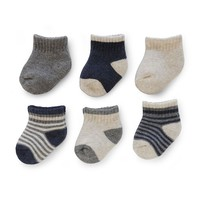 Carter's 6-pk. Terry Crew Socks - Baby