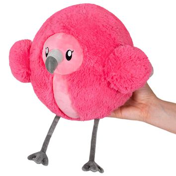 Squishable Mini Fluffy Flamingo 7""