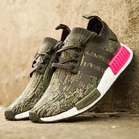 Adidas NMD PK Camo Fashion Women Casual Running Sport Shoes