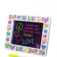 Text Icon Light Up Message Board   Girls Room Accessories Beauty, Room & Gifts   Shop Justice