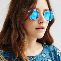 Round Metal Sunglasses   Urban Outfitters