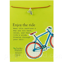 BICYCLE WISH NECKLACE