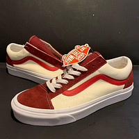 VANS Fashion Orange Soda Series Low-Top Lace-up Sneakers New Ladies Canvas Shoes