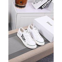 dior men fashion boots fashionable casual leather breathable sneakers running shoes 110