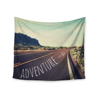 "Sylvia Cook ""Adventure"" Desert Road Wall Tapestry"