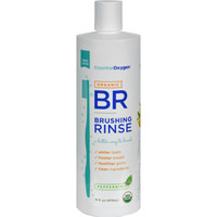 Essential Oxygen Brushing Rinse - Organic - Peppermint - 16 Fl Oz